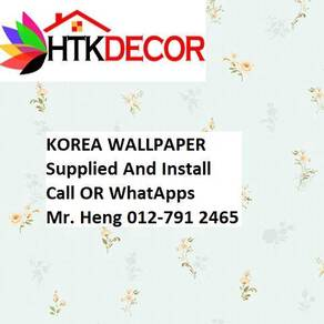 3D Korea Wall Paper with Installation 693DW1