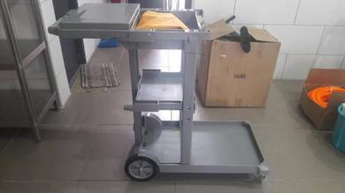 Cleaning Cleaner Trolley Troli Cart