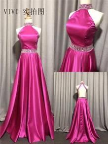 Pink prom evening dress gown RBP1198
