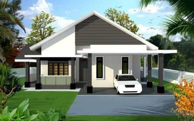 Rumah Banglo Binjai Rendah Bukit Payung Marang (CASHBACK RM10ribu)