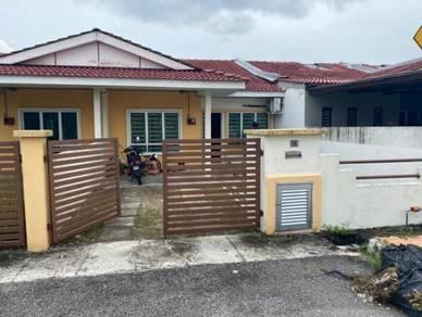 Single Storey Terrace,Taman Halaman Indah Sungai Jawi For Sale