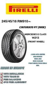Pirelli 245 45 18 cinturato p7 moe mercedes w21391