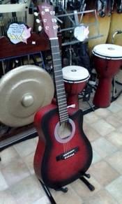 RCStromm Acoustic Guitar (Redburst)