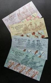 Mint Stamp Header Musical Series 2 Malaysia 2018