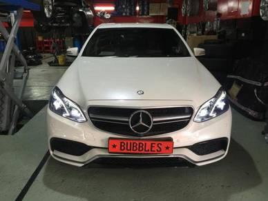 Mercedes e-klass w212 facelift conversion
