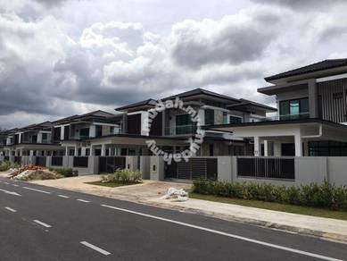 New Double Storey Semi D at Rivervale Residence,Stutong .Kuching