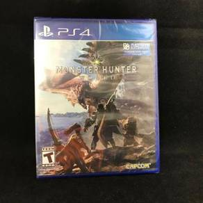 PS4 Game Monster Hunter World MHW NEW