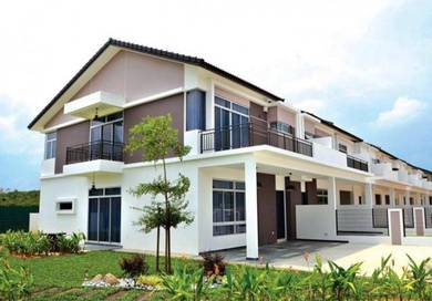 [Gated&Guarded] COMPLETED 2 storey garden home with RM100K cashback