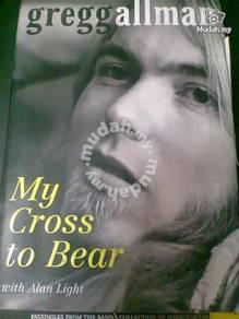 GREGG ALLMAN - My Cross To Bear (Hardcover Book)