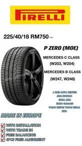 Pirelli 225 40 18 p zero * moe mercedes bmw