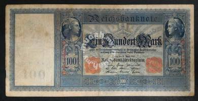 Germany Paper Note 100 Year 1910