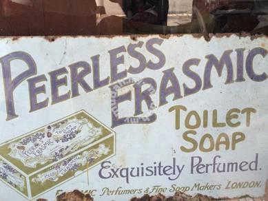Peerless Erasmic Soap Signboard Papan Iklan Lama