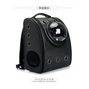 Cat space backpack / capsule bag 10