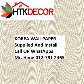 Wall paper with New Collection 412UW