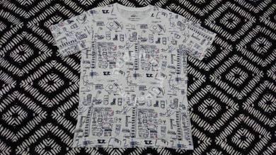 Jean michel basquiat x uniqlo fullprint size L