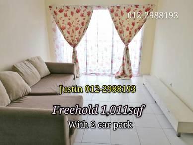 Freehold 2 parking Selayang Amara Batu Caves Gombak near Damansara PJ
