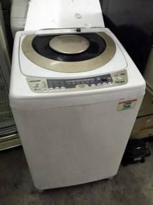 10kg Washing Machine Toshiba Gold Mesin Basuh Auto
