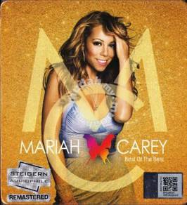 CD MARIAH CAREY Best of The Best Audiophile Master
