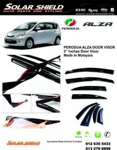 Perodua Alza Mugen Door Visor