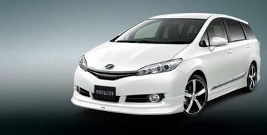 Toyota Wish 09-13 MODEL X MODELLISTA BODYKITS
