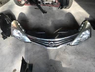 Nissan livina bumper bonnet lamp parts