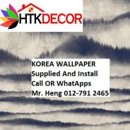 PVC Vinyl Wall paper with Expert Install 483RW