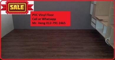 Natural Wood PVC Vinyl Floor - With Install t6utg
