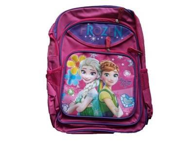 School Bag Backpack 16inch - Frozen Elsa Anna