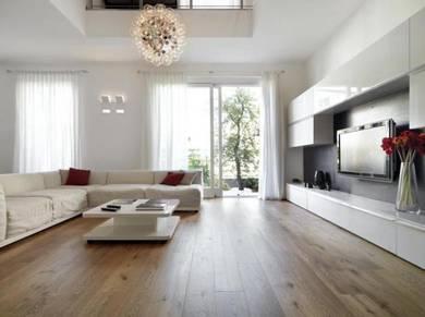 Timber Laminate Flooring / Lantai Kayu Lamina- A25