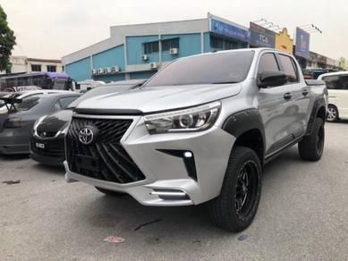 Toyota hilux revo rocco lexus led bodykit bumper 2