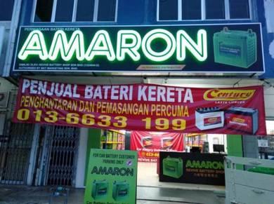 Amaron CENTURY car battery bateri kereta - New