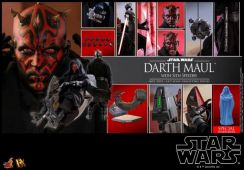 Special Edition Darth Maul With Sith Speeder
