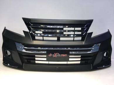 Toyota Vellfire bumper modellista Aero Tourer