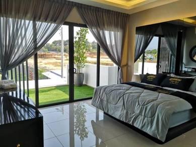 High Security Full facilities Full Extend 2 Storey Terrace Ayer Keroh