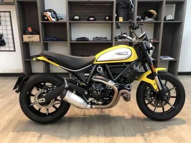 Scrambler Ducati Icon V2: OTR + FREE GIFTS