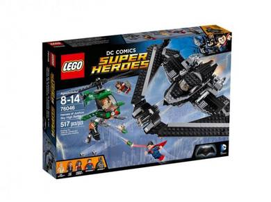 LEGO Heroes of Justice Sky High Battle 76046