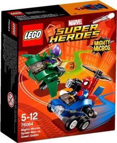 LEGO Super Heroes Spider Man vs Green Goblin 76064