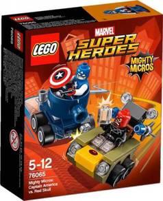 LEGO Captain America vs Red Scarlet 76065