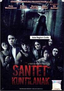 DVD Indonesian Movie Santet Kuntilanak
