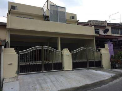 F/furnished student house seremban desa rasah