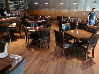 Vinyl Floor Lantai Timber Laminate PVC Floor Q561