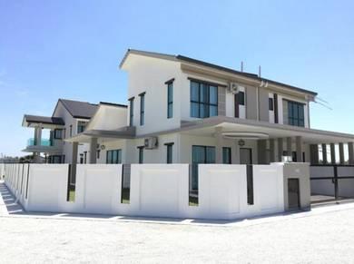 New 1.5 Storey House Cash Bck RM45K Tanjung Lumpur Sungai Soi Freehold