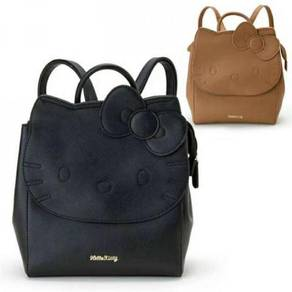 Hello kitty black brown backpack bag RBHB060