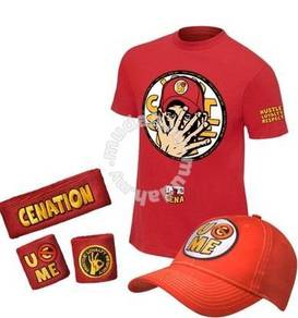 WWE WWF John Cena T Shirt Full Set (#29)