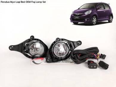 Perodua Myvi Lagi Best OEM Fog Lamp Set W/Switch
