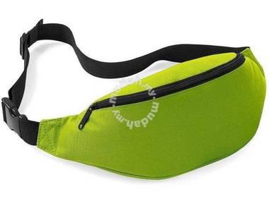 RAX Sports Pouch Travel Waist Jogging Bag (Green)