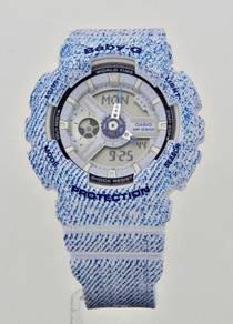 CASIO BABY-G Denim Textile Design BA-110DC-2A3DR