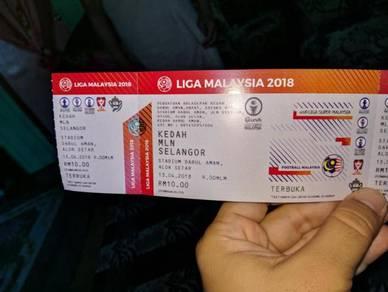 Tiket Bola Liga Super Kedah v Selangor