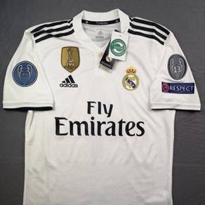 Real Madrid Home Jersey Adidas 2018/19