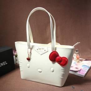 Hello Kitty white pink black red handbag slingbag